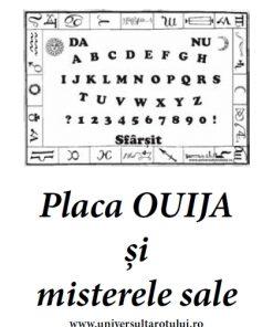 Placa Ouija și misterele sale - Brosura