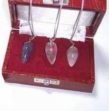 Set de trei pendule magice din cristal