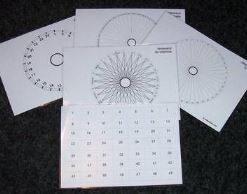 Planse radiestezice pentru lucrul cu pendulul si tensorul