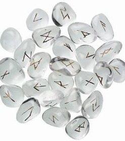 Set de rune din cristal de stanca - Alfabetul runelor