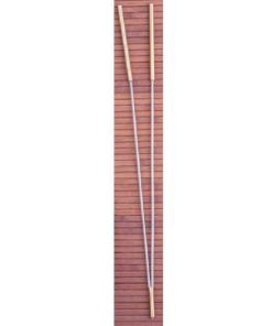 Baghete radiestezice din metal cu maner din metal auriu - model nuielusa de alun